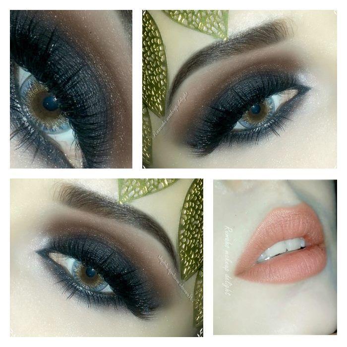 Arabic Smokey Eyes Makeup For Stani Brides Things To Wear