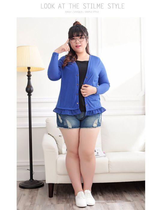 1ed7ef4dde Plus size Asian fashion and cute casual fashion Jean Mini Skirts, Asian  Angels, Jean