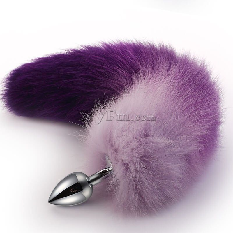 Purple Ombre Tail With Metal Anal Plug In 2019 Colored Tail With
