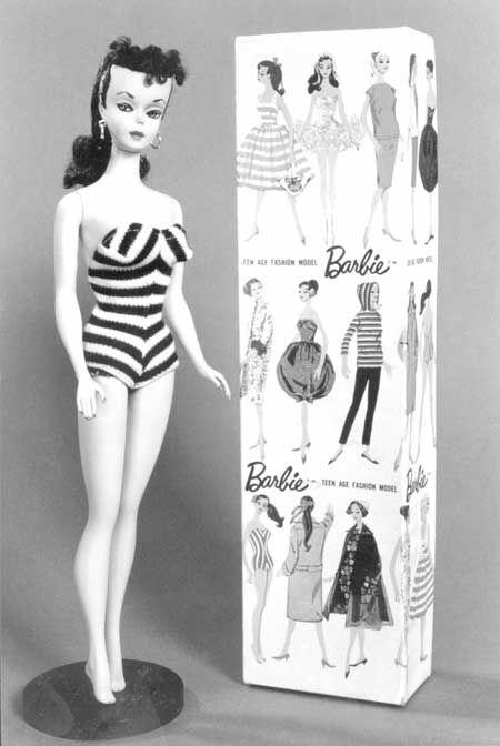 9 de marzo de 1959 fue lanzada al mercado la primer muñeca Barbie en la American International Toy Fair en Nueva York.