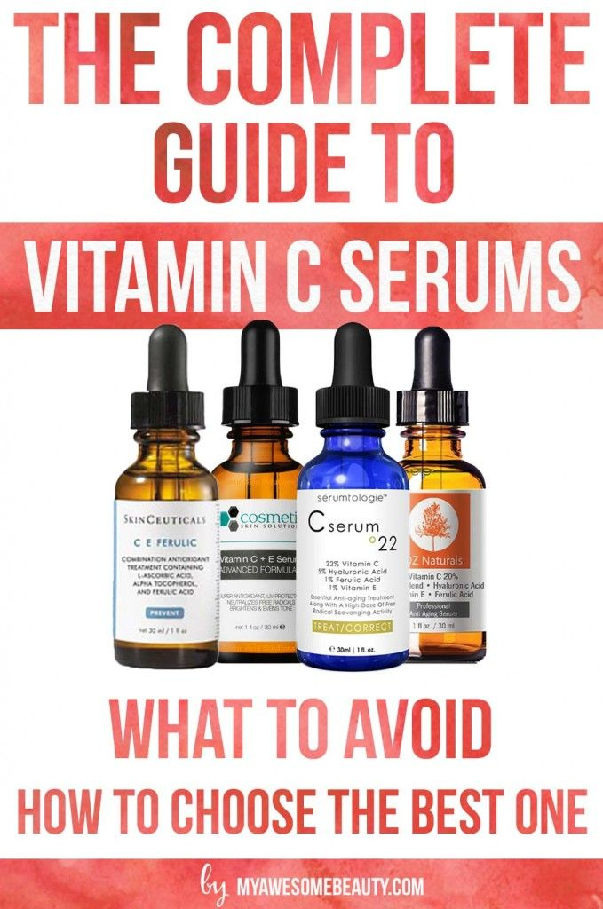 Choose the best vitamin C serum for face