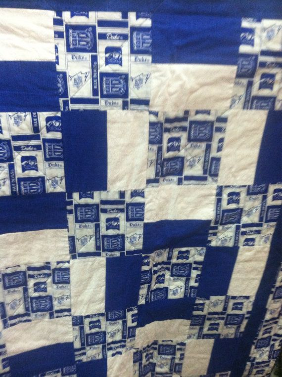 This is for a handmade duke blue devils quilt!Perfect for a ... : college quilt patterns - Adamdwight.com