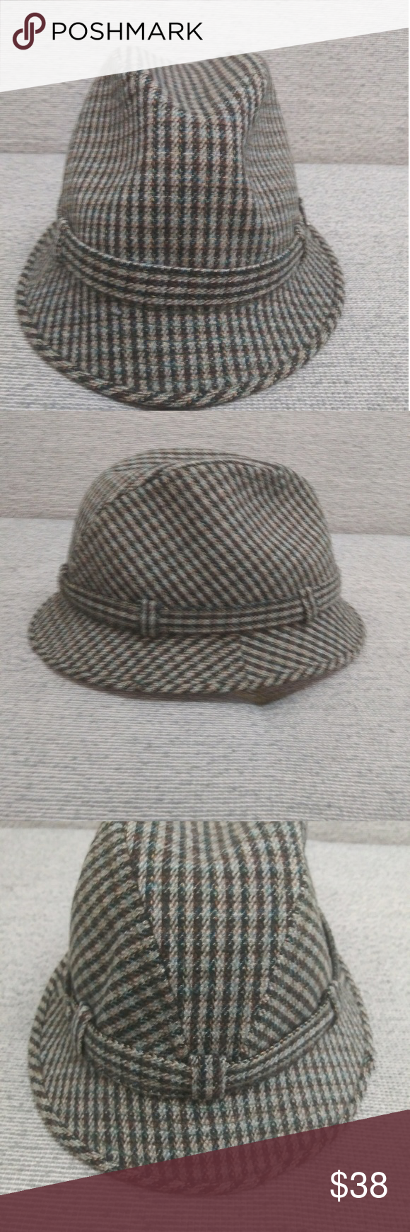 Vintage Edinburgh Woolen Mill Mens Hat Hats For Men Woolen Hats
