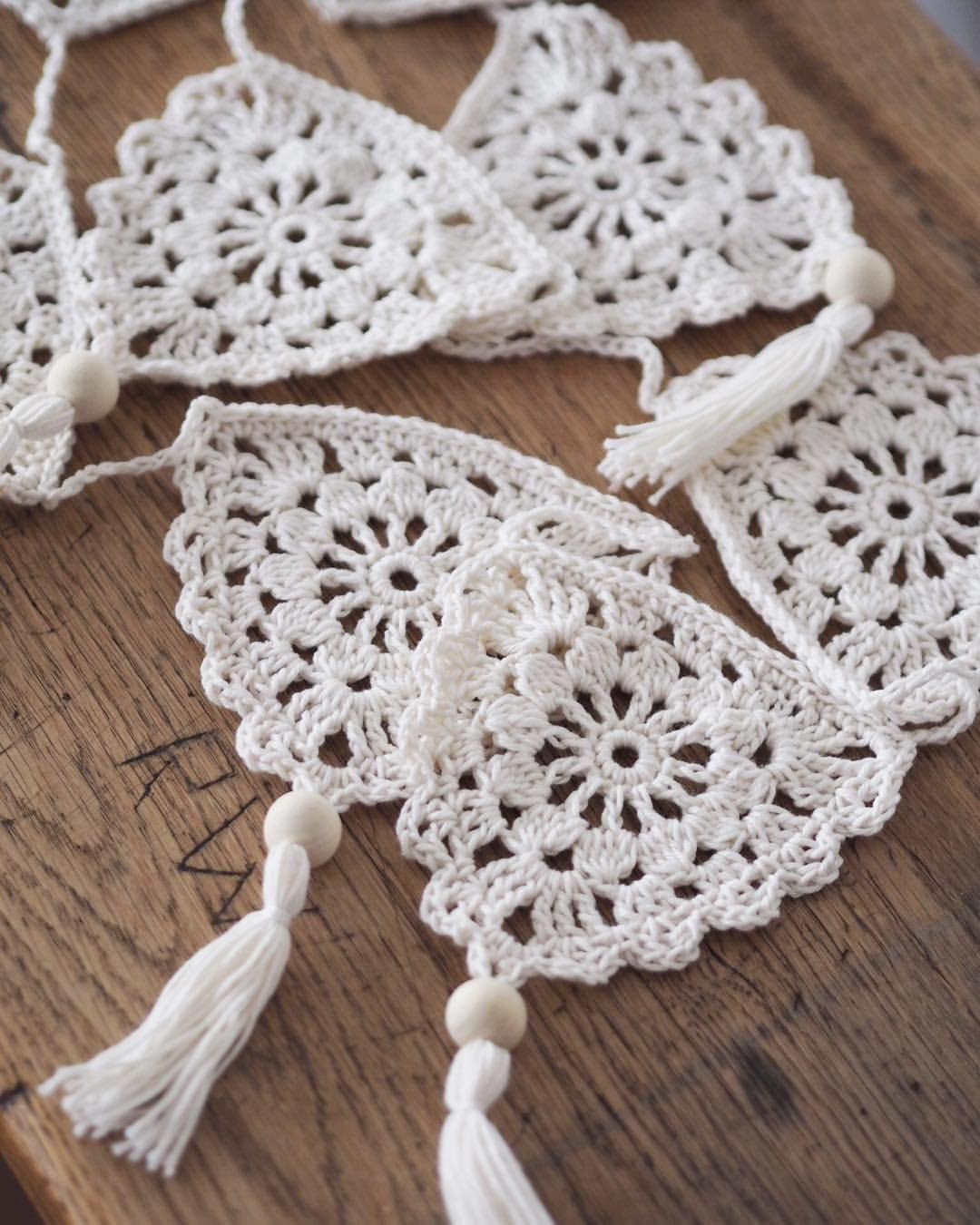 Crochet Boho Bunting | Lululoves Blog | Crochet | Pinterest ...