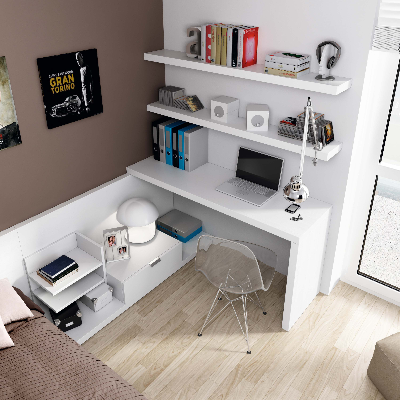 Escritorio habitaci n juvenil decoracion y - Escritorio habitacion ...
