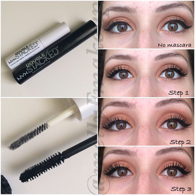 aa515911cf3 NYX Double Stacked mascara. Follow my instagram @mellyfmakeup for more!  Instagram post by