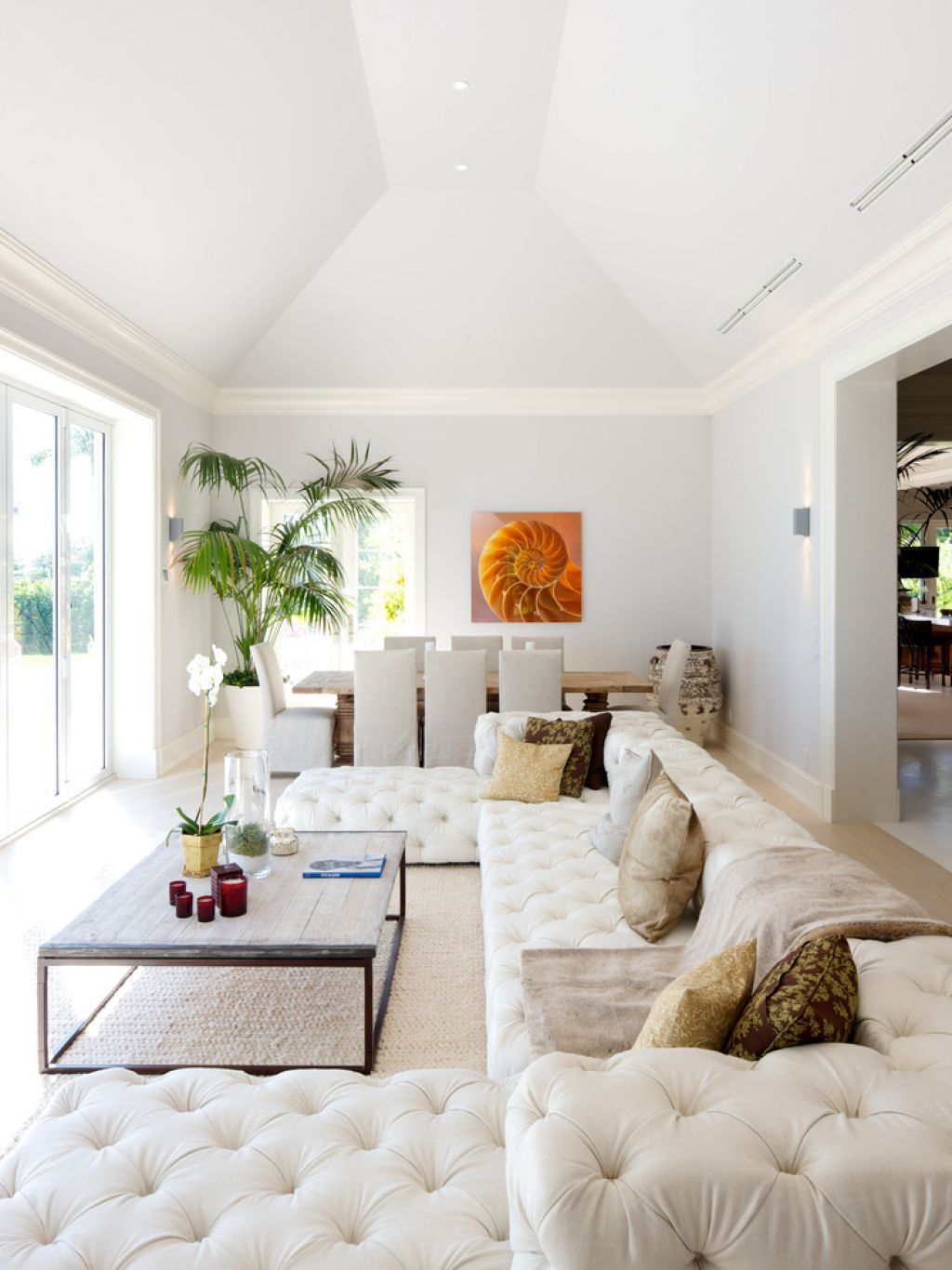 Arrange A Sectional Sofa In Living Room