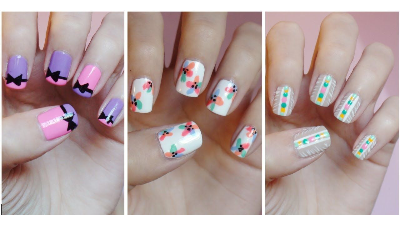 She Is The Best Easy Nail Art For Beginners 8 Missjenfabulous