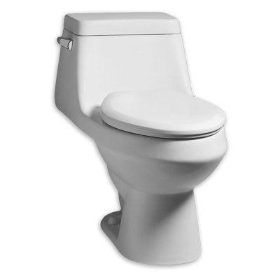 American Standard Fairfield Elongated One Piece Toilet 2862 058 020 Products American Standard Toilet Steam Showers