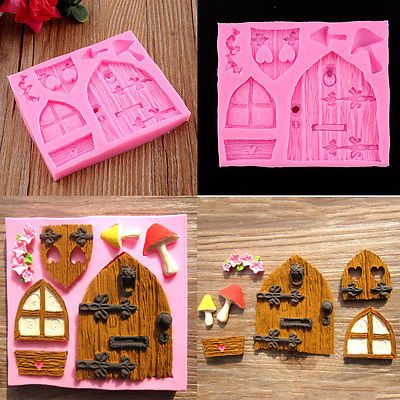 Fairy house cake #decor fondant mould #candy soap #baking chocolate mold tool,  View more on the LINK: http://www.zeppy.io/product/gb/2/271996990604/