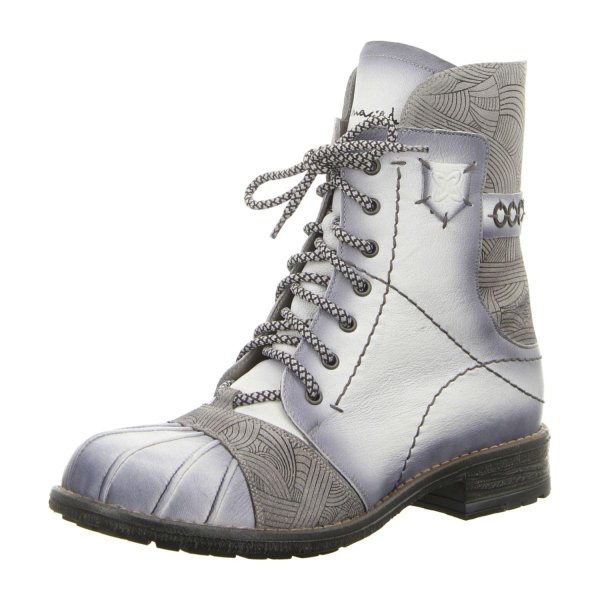 NEU: Maciejka Stiefeletten 03201 1100 4 bialy | Schuhe