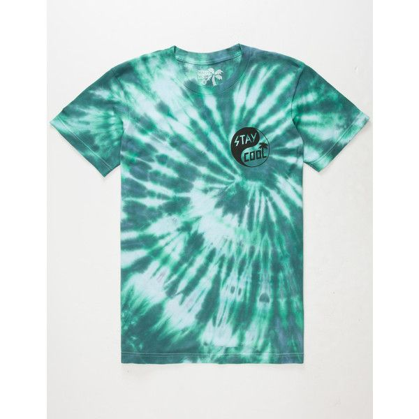 Happy Hour Stay Cool Yin Yang Mens T-Shirt ($18) ❤ liked on ...