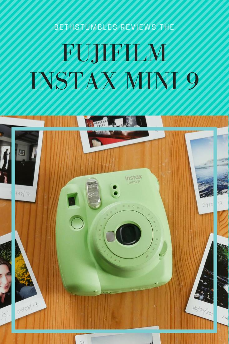 e584c28a0 BethStumbles reviews the Fujifilm Instax Mini 9 camera.  bethkempster   instaxmini  mini9  instax  fujifilm  polaroid