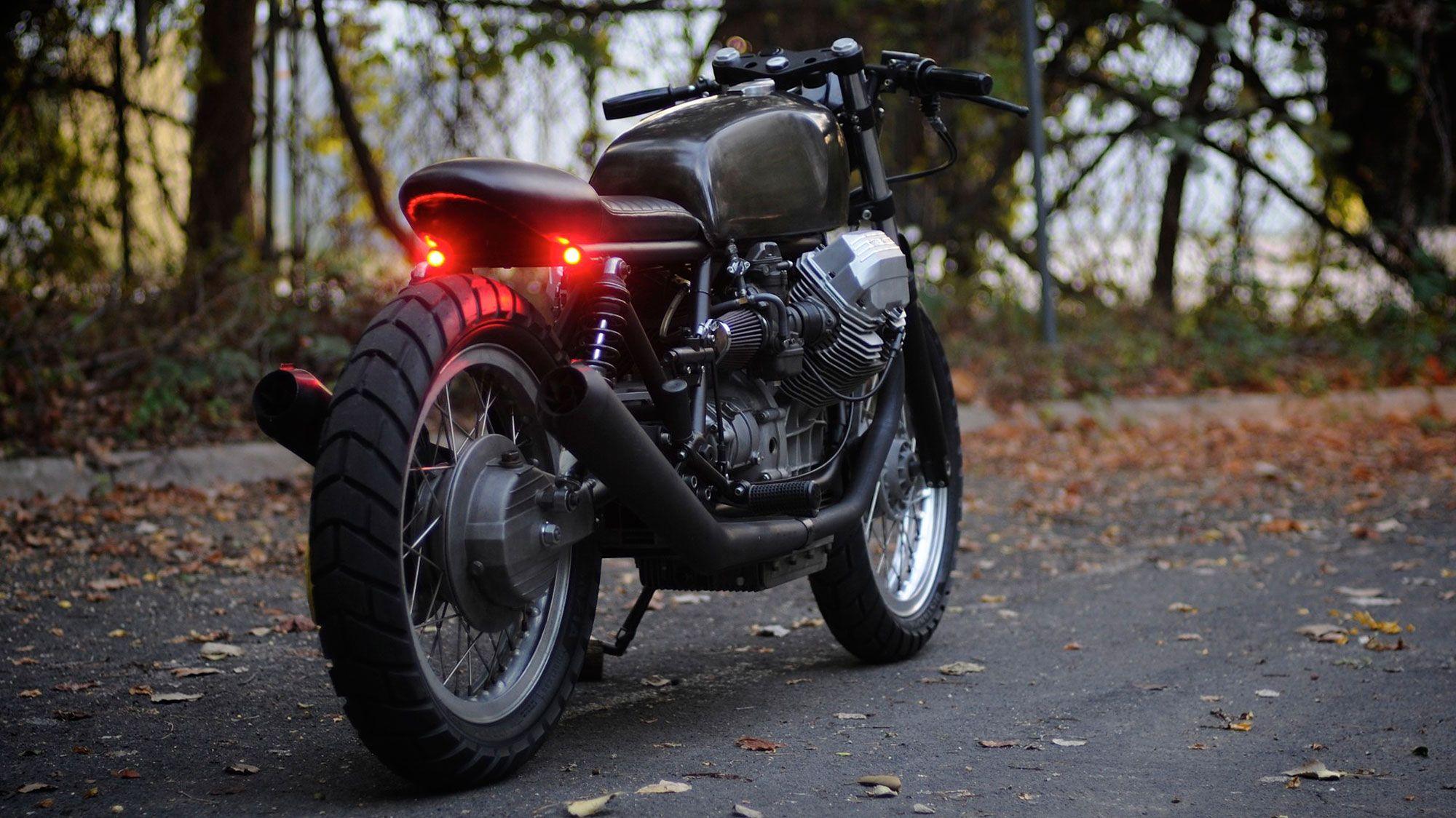 Revival Cycles Custom Build: 1986 Moto Guzzi Le Mans IV
