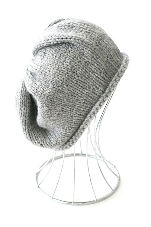 Ravelry: Simple Slouchy Beanie pattern by Kelly Kingston | Knitting ...