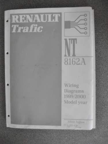 Renault Trafic Wiring Diagrams Manual 1999 2000 7711205428 ...