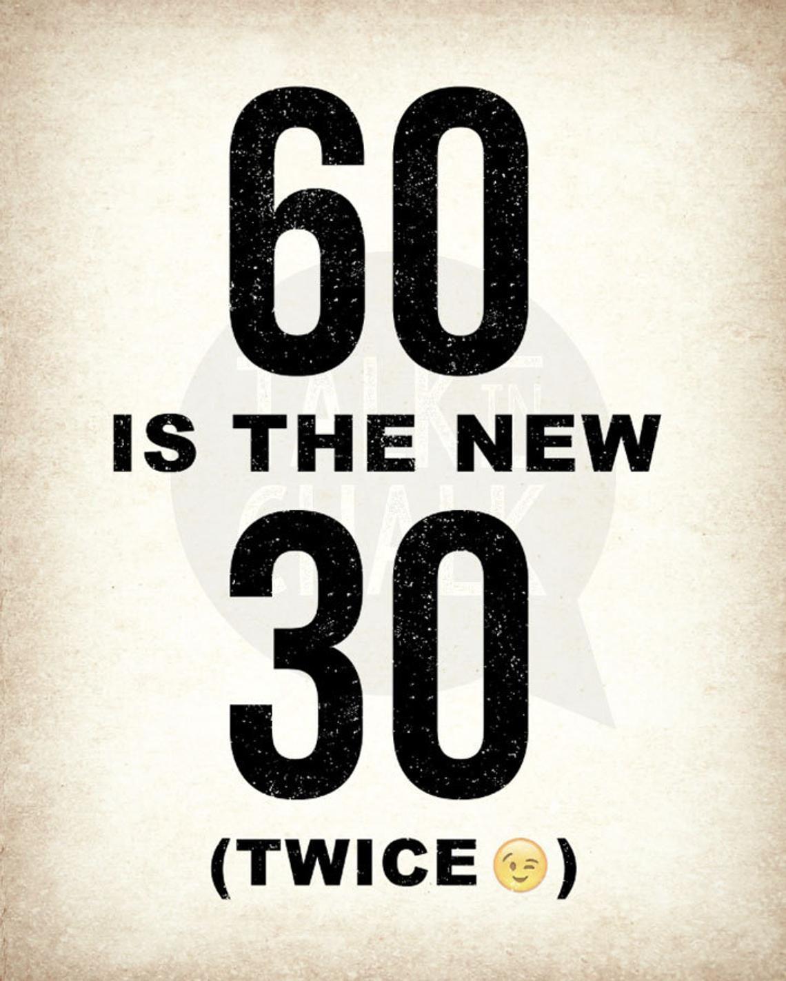 60th birthday printable sign pack 60th birthday digital