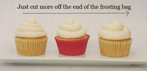 Cupcake Tips #cupcakefrostingtips