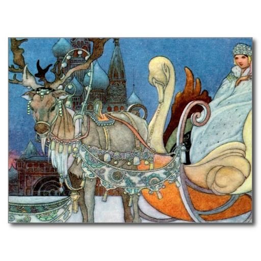 Snow Queen Ice Princess Post Cards