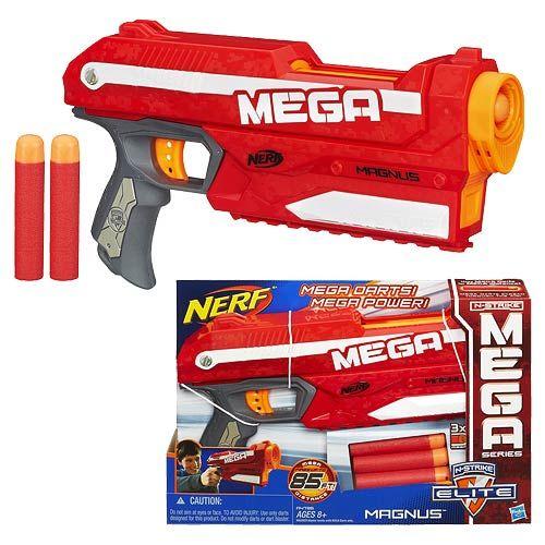 417f9c7b855 Nerf N-Strike Elite Mega Magnus Dart Blaster Hasbro Nerf Roleplay ...