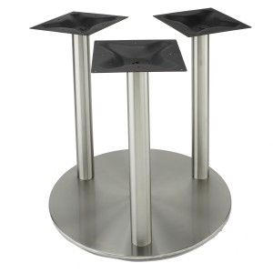 Our RFLX Stainless Steel Table Base For Table Tops Up To - Stainless steel table tops for sale