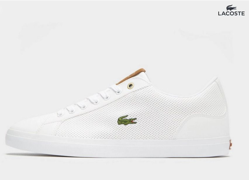 Lacoste Lerond 218 2 Cam Herren Sneaker Trainers White Jd Sports Weiss 2019 Sneaker Herren Jd Sports Lacoste Damen Sneaker