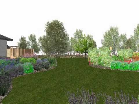 3d Walkthrough Visualize Your Garden Garden Design Garden Visual