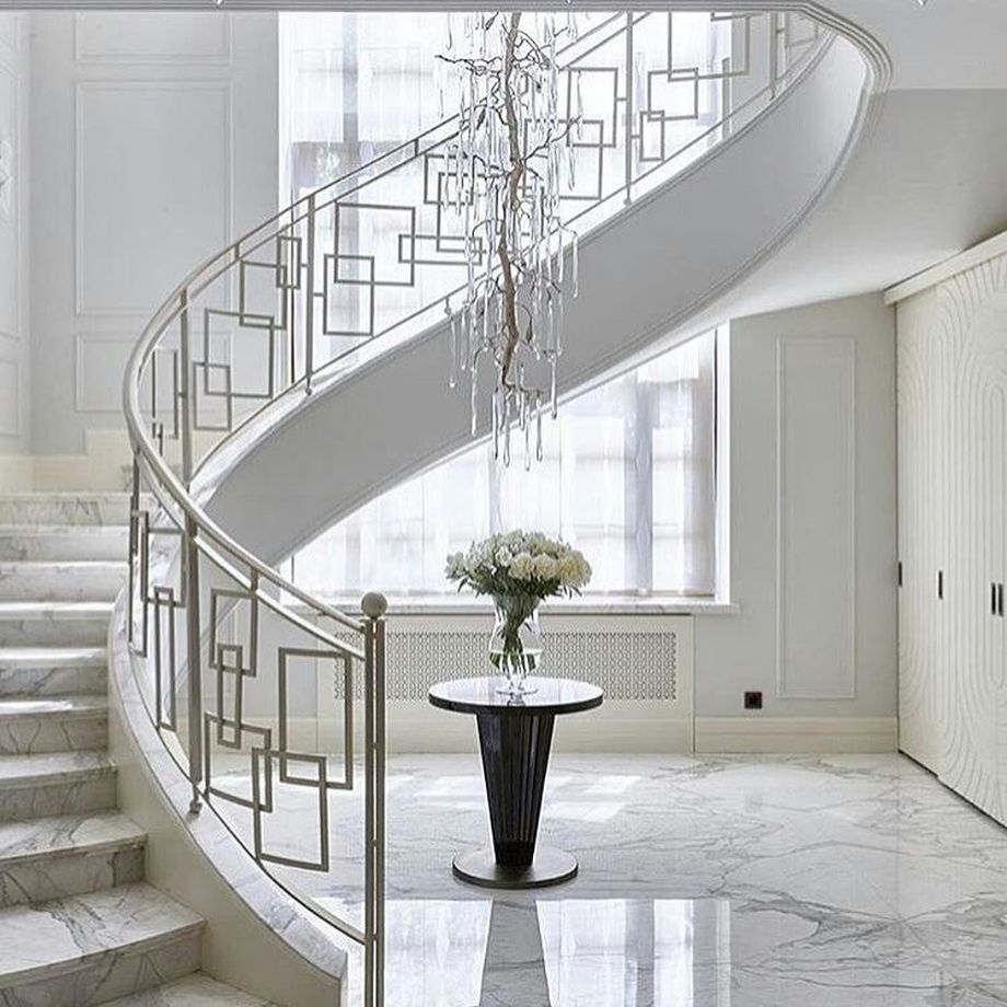 awesome modern stairs railing design for your home also best  rails images in rh pinterest