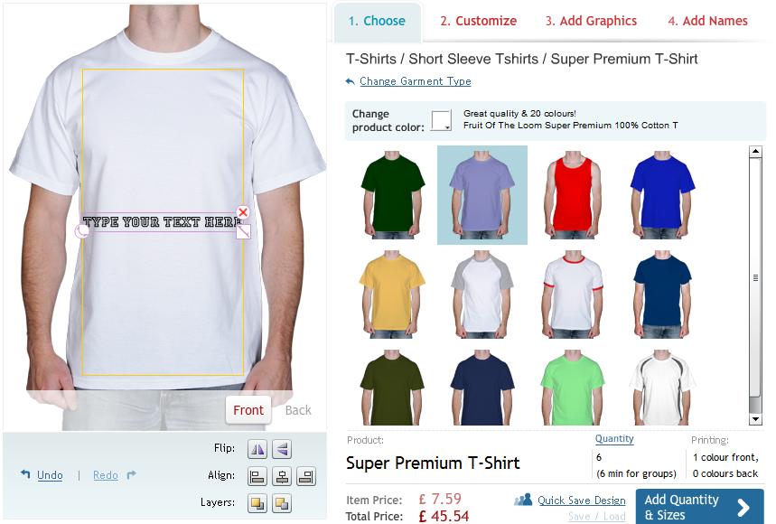 Choose Your Best Online T Shirt Designer Tool No Refresh Com Clothing Design Software Clothes Design Online Clothing