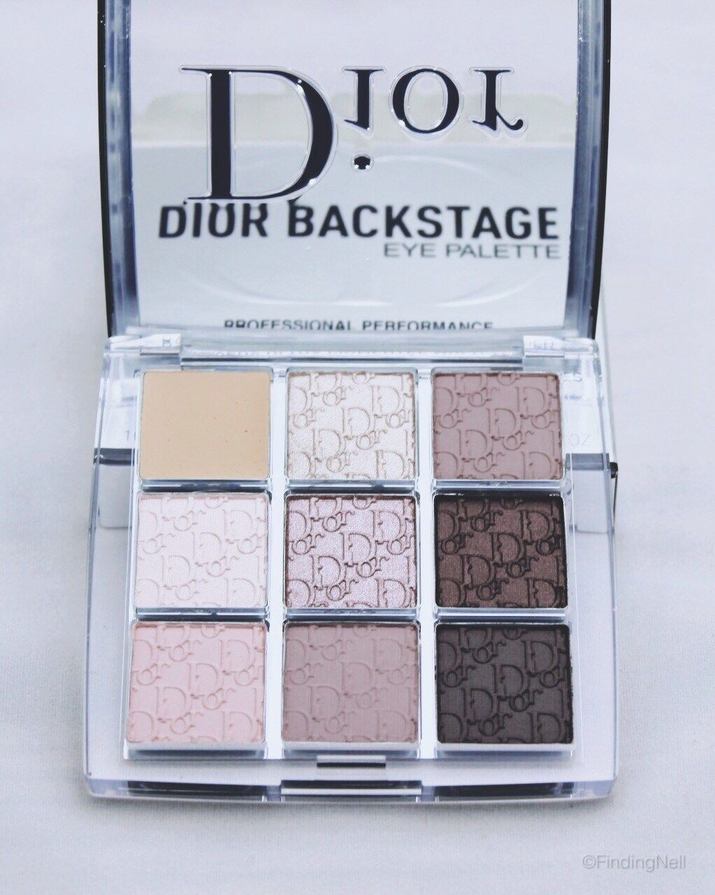 review: dior backstage collection | dior eyeshadow palette