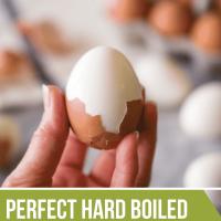 Easy Peel Hard Boiled Eggs Recipe | Fed & Fit