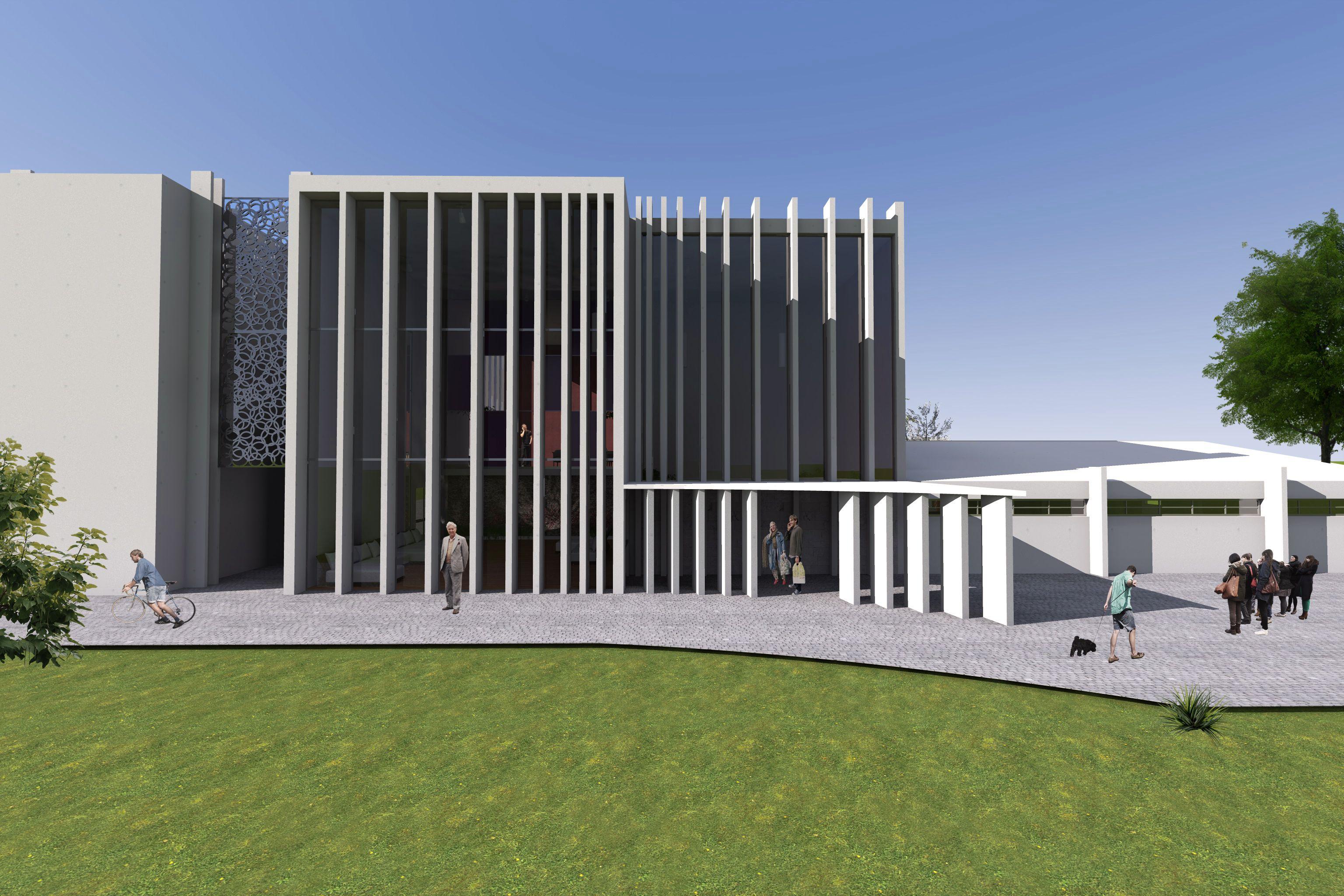 Favoritos Render arquitectónico- Asilo de ancianos | Arquitectura para  BM71