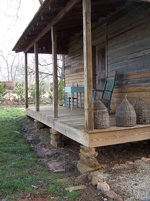 This Looks Like The Log Cabin Front Porch That I Grew Up In.   The Old  Mercantile Clarksville