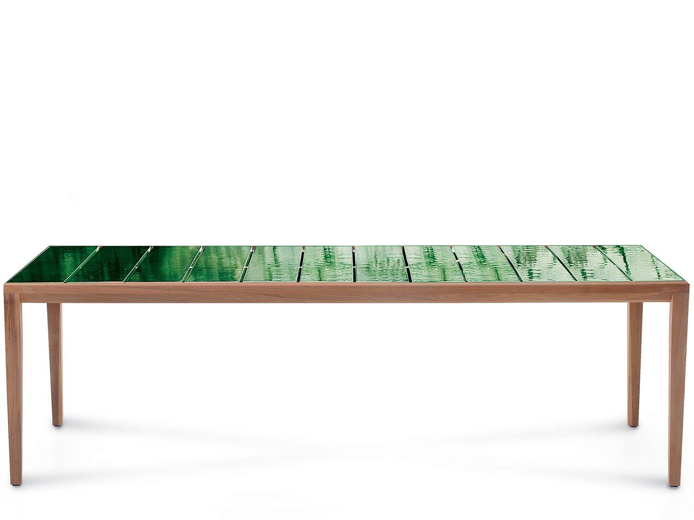 Roda Tavoli Da Giardino.Tavolo Di Design Da Esterno Teka 174 Table Roda Home Interiors