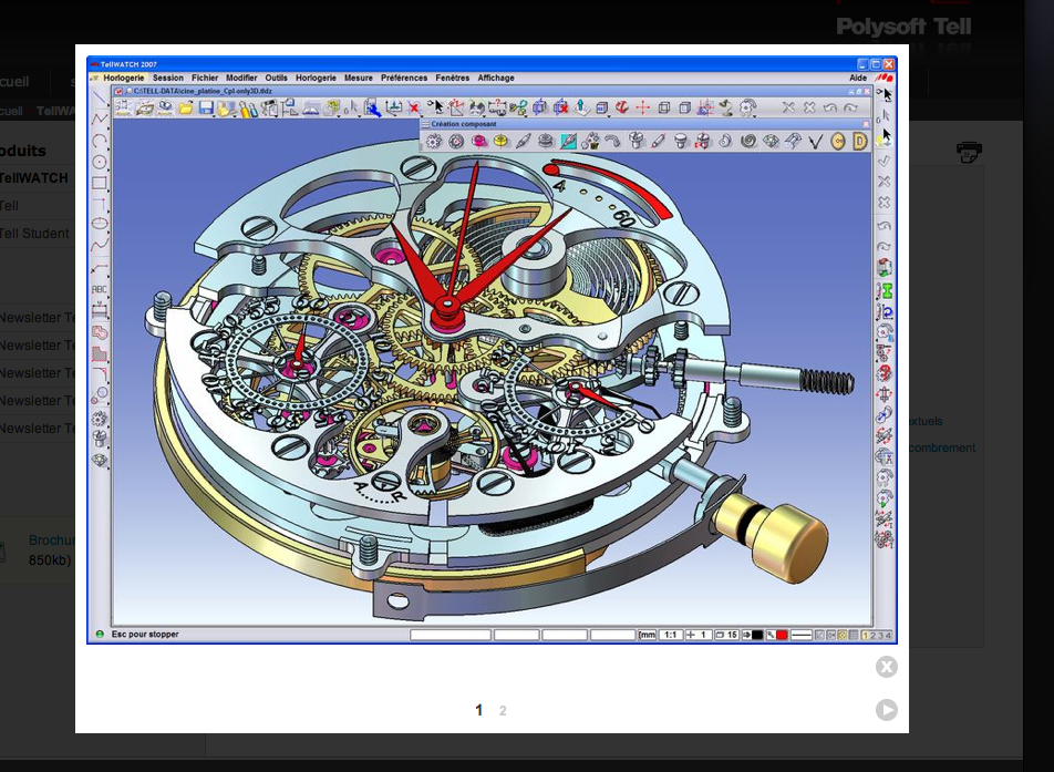 Korpela watchmaking competence centre tellwatch 3d cad 3d cad software