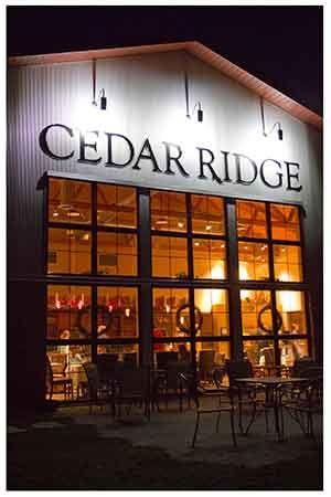 Cedar Ridge Winery Vineyard Tour Winery Tours Ridge Winery