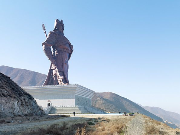 fantastic series (With images) | Guan yu, Statue, Monument