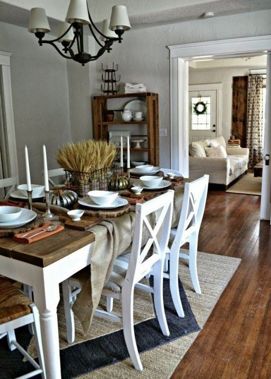 33 Inviting And Cute Vintage Dining Rooms And Zones Otthon