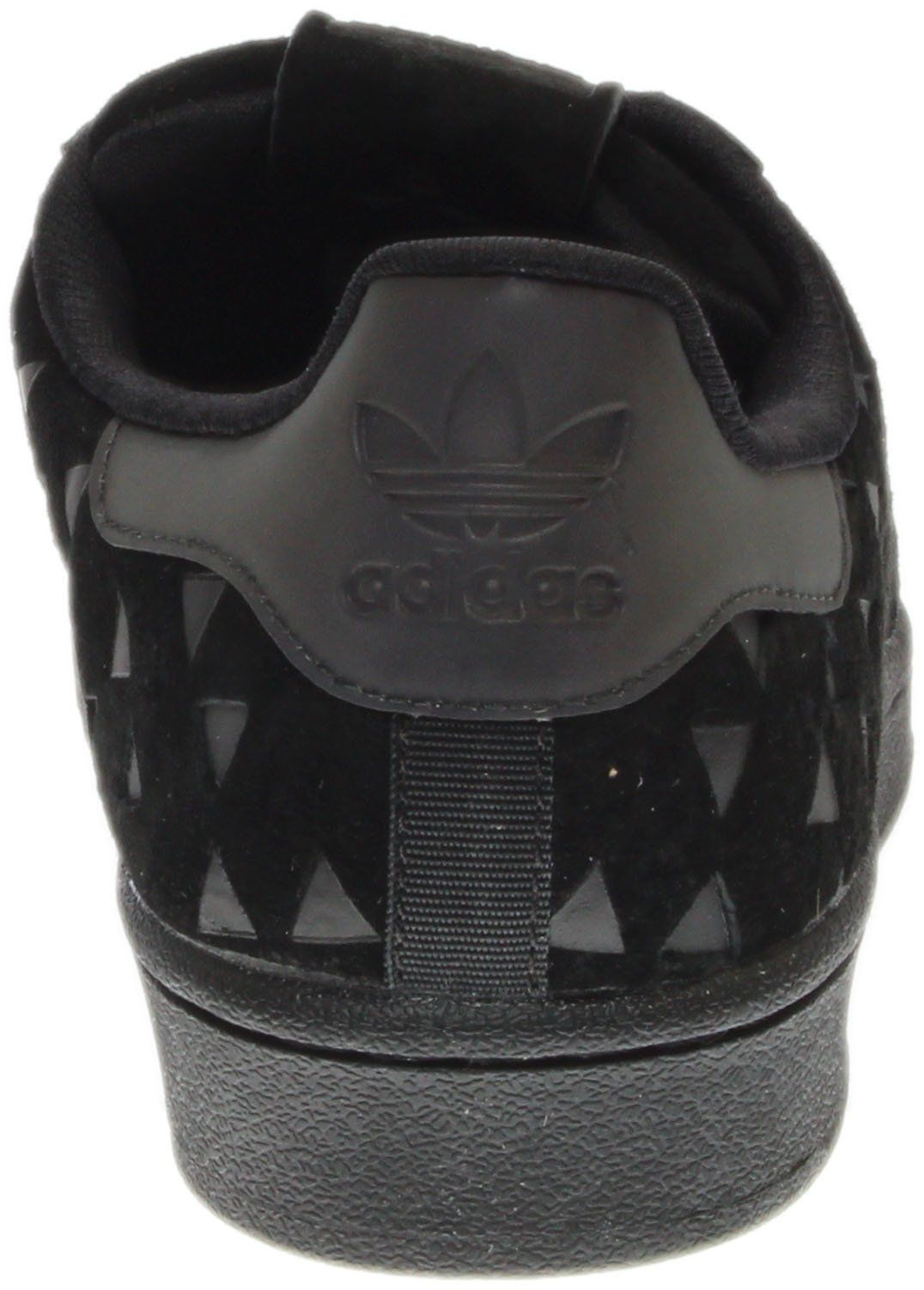 87f2d3595967e adidas Originals Boys Superstar J Sneaker Black Black Black 5.5 M US Big  Kid    See this great product. (This is an affiliate link and I receive a  ...