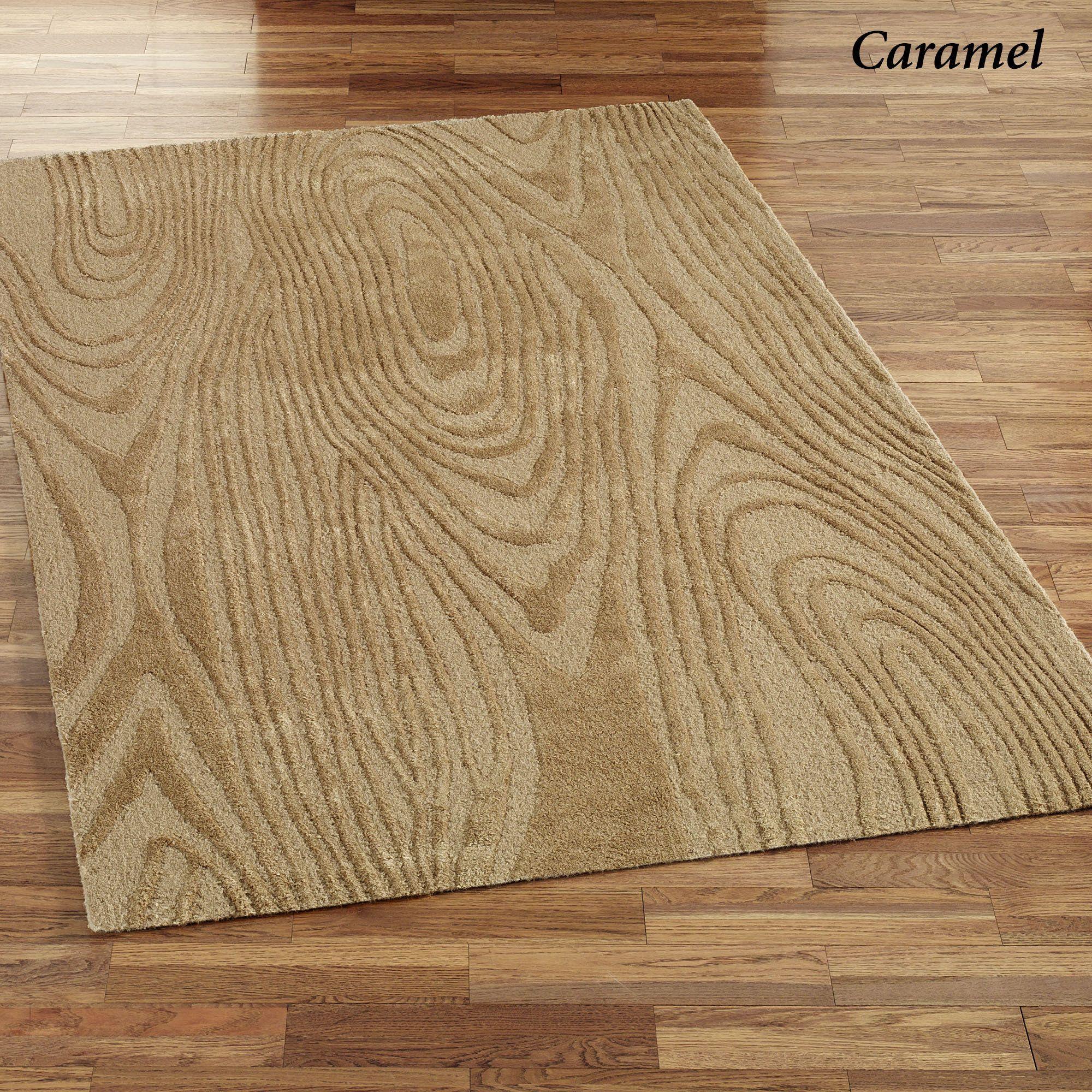 Wood Grain Print Rug: Wood Grain Design Coppice Area Rugs