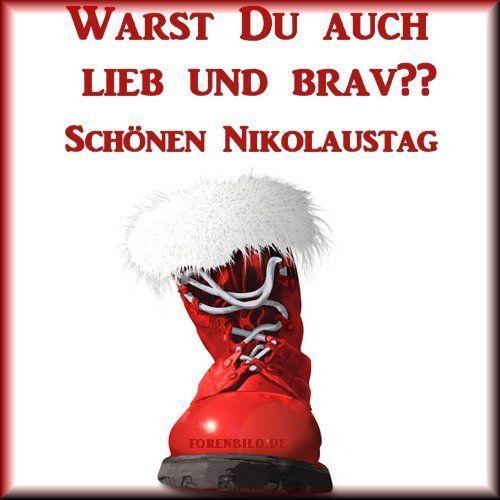 Nikolaus Bilder für Facebook. #nikolausspruchlustig