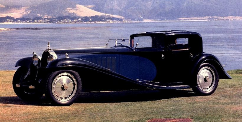 1931 bugatti royale kellner coupe - engineering piece of