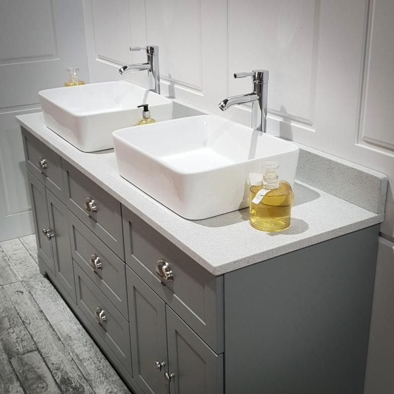 Sonix 1500 Glass Top Double Wall Hung Vanity Storage Unit Inc Basins And Taps Buy Online At Bathroom City Bathroom Vanity Tops Bathroom Vanity Units Double Vanity Bathroom