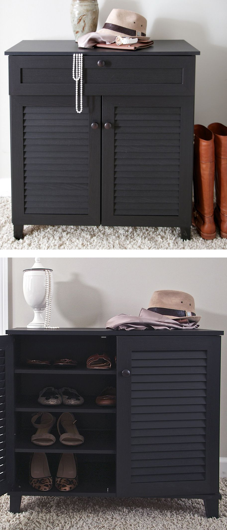Shoe Cabinet  Great For Organization And Neatly Keeping Most Worn