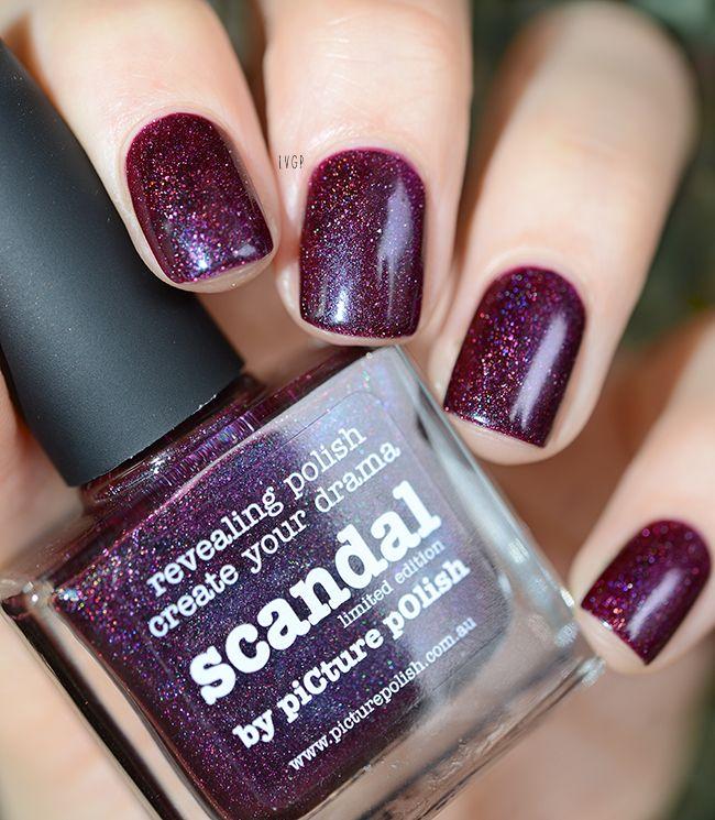 Scandal Picture Polish | idées nail art | Pinterest | Picture polish ...
