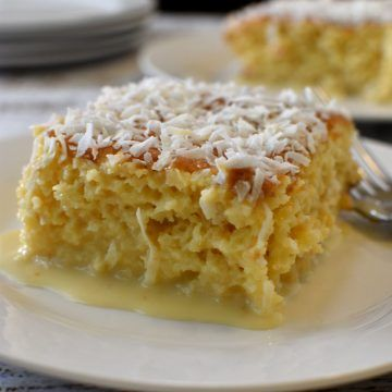 Coconut Tres Leches Cake - Simple Living Recipes