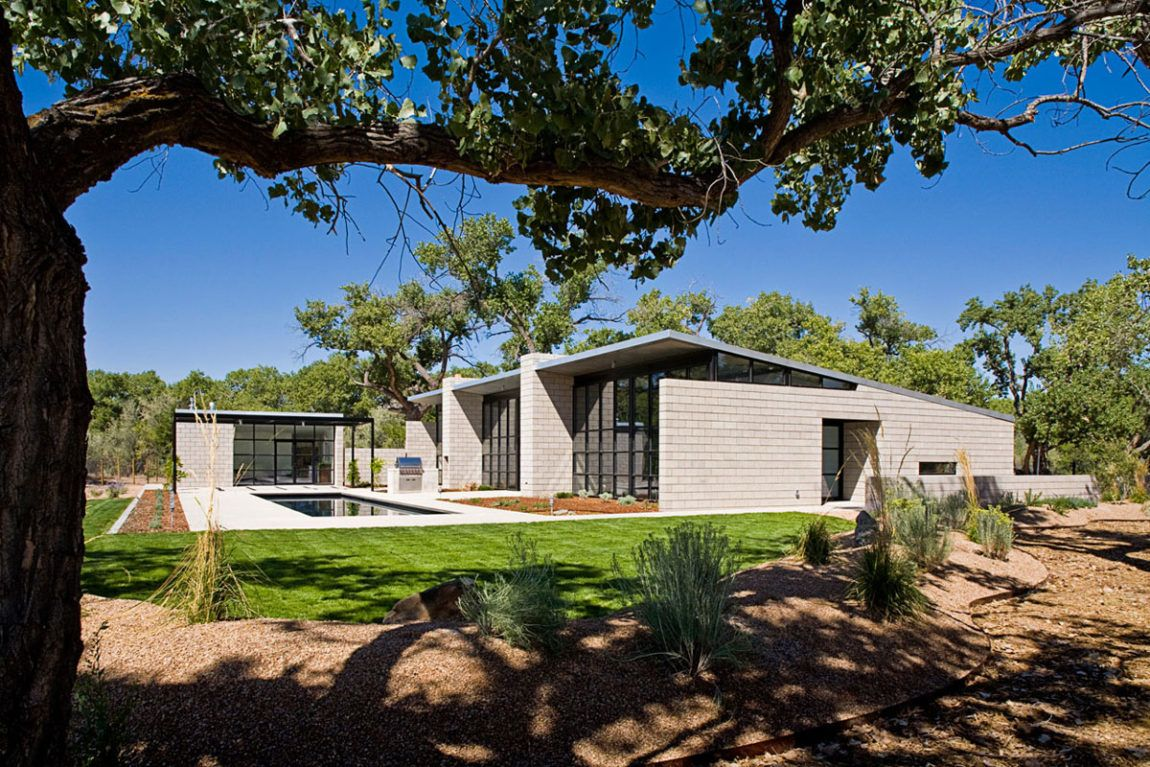 Flyway View House by Jon Anderson Architecture Casas