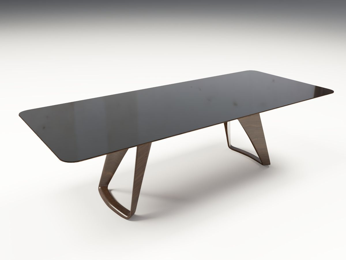 Preston Dining Table High Quality 3d Dining Table High Polly This Model Is Created With 3ds Max And Exported To Other Formats Dining Table Dining Table