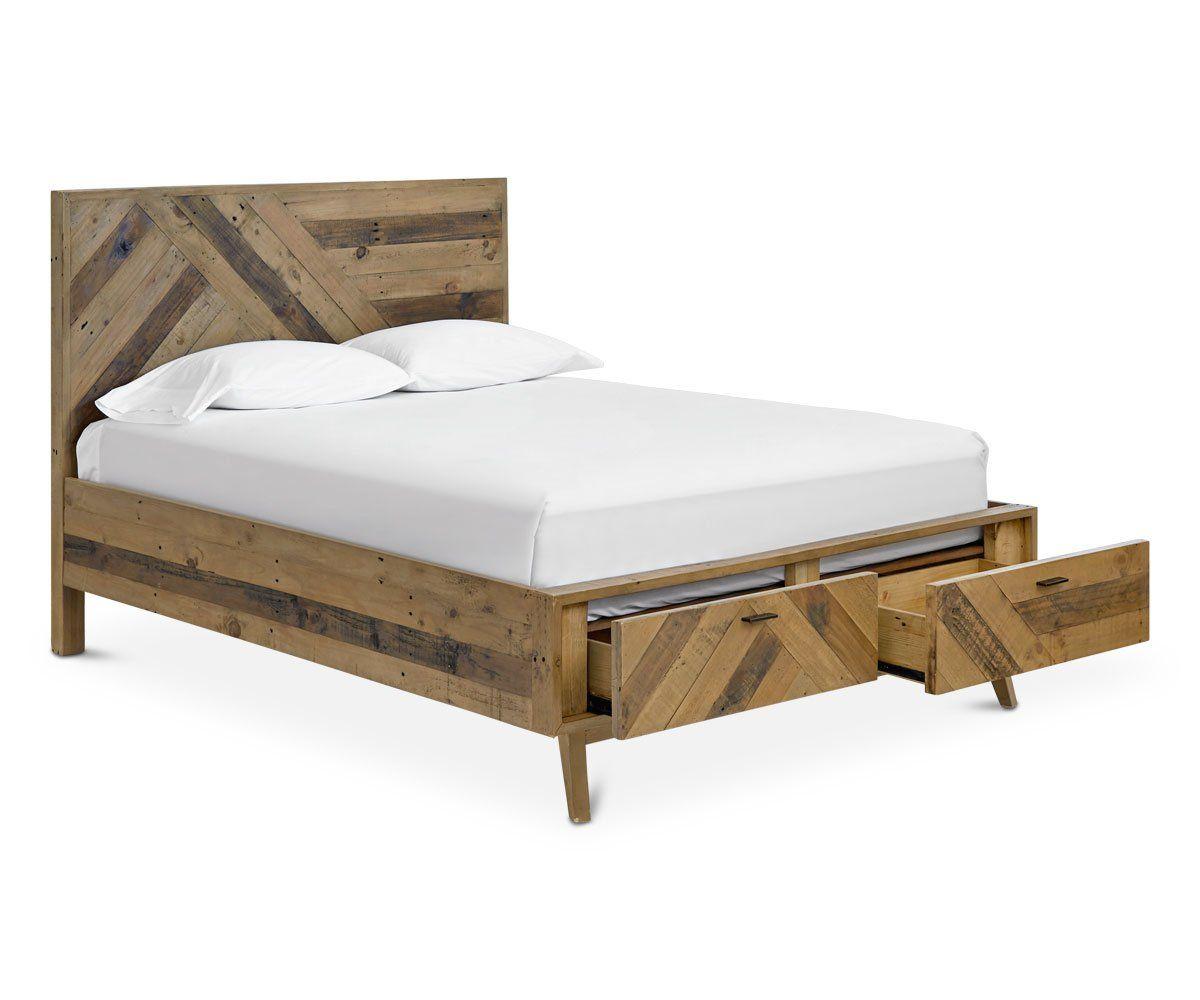 asunto storage bed