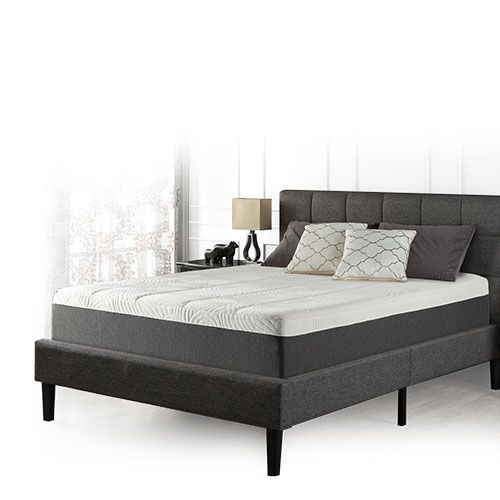 Blackstone Queen Set 12 Memory Foam Mattress And Platform Bed
